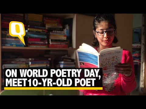 On World Poetry Day, Meet 10-Yr-Old Poet