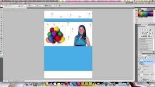 كيفية تصميم بطاقة عيد ميلاد في فوتوشوب CS5
