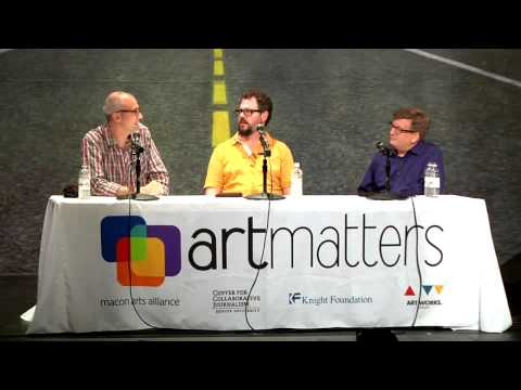 Art Matters Music and Music Criticism Symposium with Patterson Hood and Josh Jackson