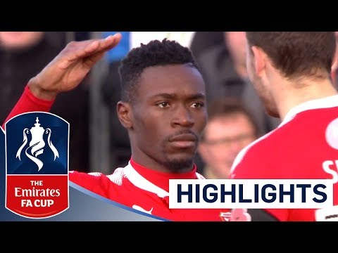 Linganzi Scores a Belter! | Dartford FC 1 - 5 Swindon Town FC | The Emirates FA Cup 2017/18