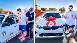 He Got Arrested, so I BOUGHT HIM A NEW CAR.. **Emotional**