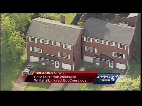 Child falls from window in Whitehall; Injured, but conscious