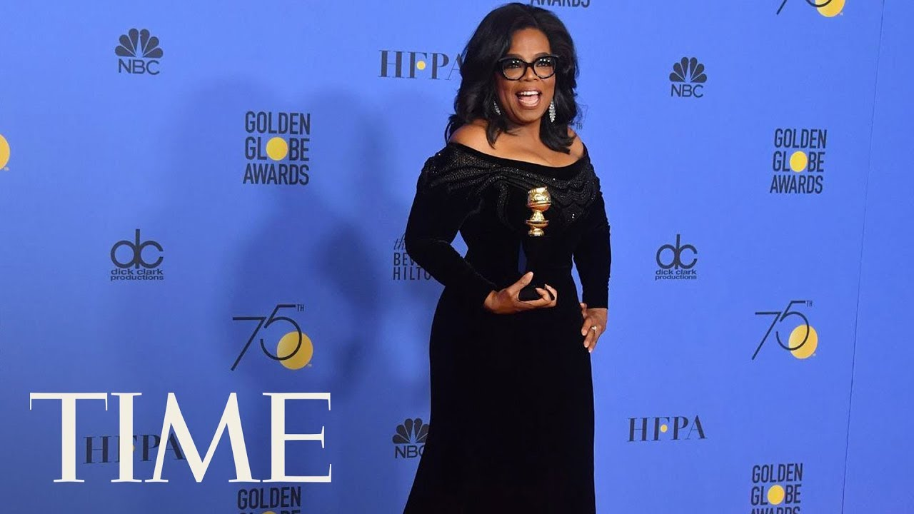 Oprah's Powerful Golden Globes Speech Honors Women Of #MeToo Movement, Acknowledges The Press | TIME