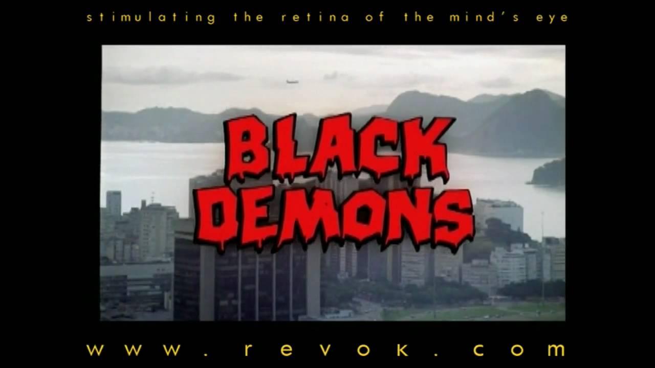BLACK DEMONS (1991) Trailer for Umberto Lenzi's entry of the DEMONS series - aka DEMONI 3