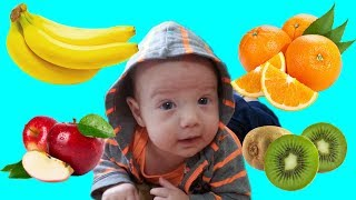 Baby Learn Names  of Fruits Video For Kids Children