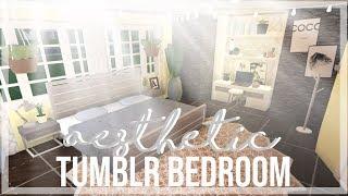 ROBLOX | Bloxburg : Aesthetic Tumblr Bedroom ♡