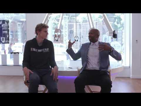 JBL Draft VIP Lounge: Lauri Markkanen and Kenny Smith