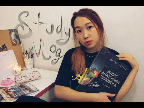 StudyVlog: Зачетная Неделя//Анатомия, латинский и концерт Максима Коржа