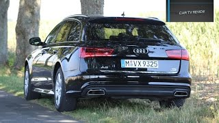 Audi A6 Avant Quattro 2.0 TDI 2016 detailed review , startup and drive