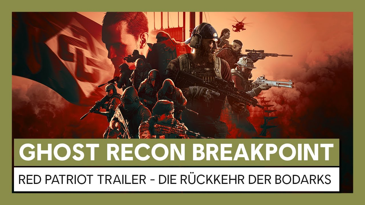 Ghost Recon Breakpoint: Red Patriot Trailer - Die Rückkehr der Bodarks | Ubisoft
