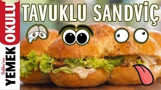 Sandviç'in Kralı Tavuklu Ekmek Arası Sandviç Tarifi