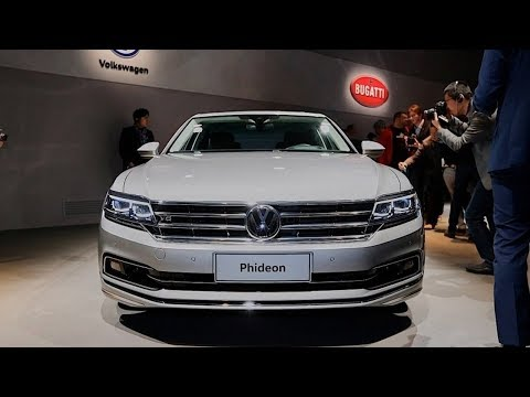 All New 2018 VW Phideon Luxury Interior and Exterior Overview