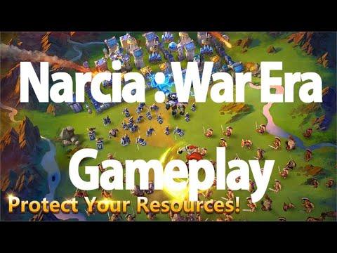 Narcia War Era | New Game Mode | Gameplay | Castle Clash | ABJ GAMING