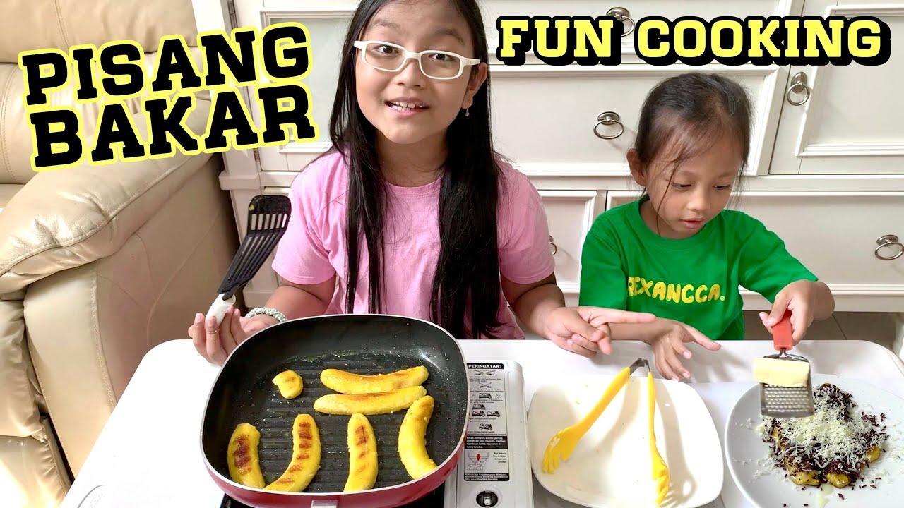 Pixel Fun Cooking Bikin Pisang Bakar | Anak Belajar Masak