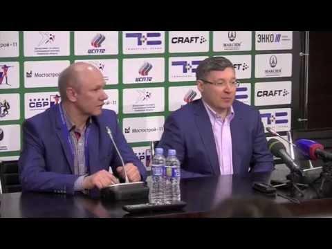 Фрагмент пресс конференции губернатора Тюменской области по гонке чемпионов