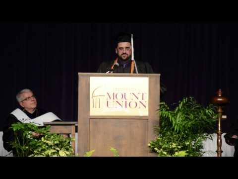 2015 Mount Union Senior Class President Speech