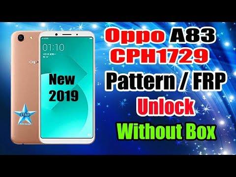 Oppo A83 Pattern Unlock Offline | Without Box | Oppo Cph1729