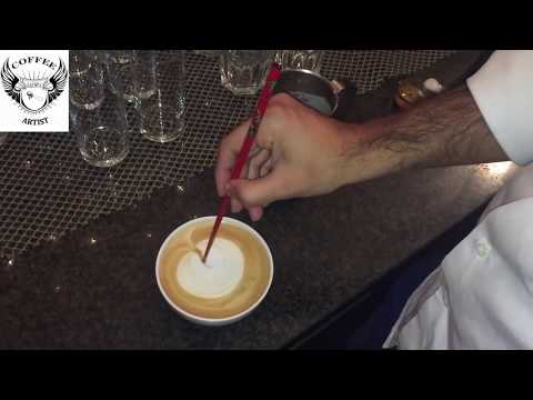 GIRL KISSING A GIRL EURO VISION SONG CONTEST LATTE ART SPECIAL 2015