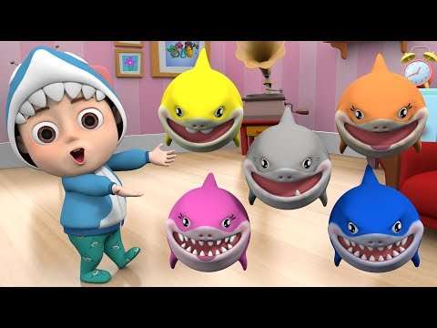 Baby Shark 🦈 Baby shark family, Kids song & nursery rhymes baby song, baby shark song dance