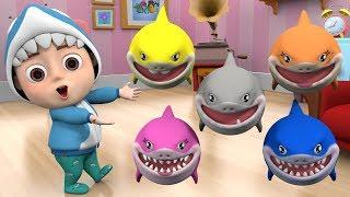 Baby Shark 🦈 Baby shark family, Kids song & nursery rhymes baby song, baby shark song dance