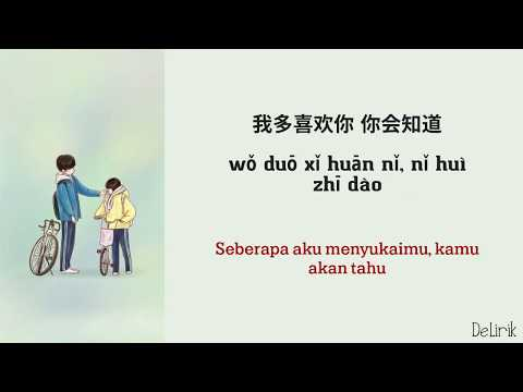 A Love So Beautiful OST [Versi Mandarin] - 我多喜欢你,你会知道 (Lyrics Video Dan Terjemahan)