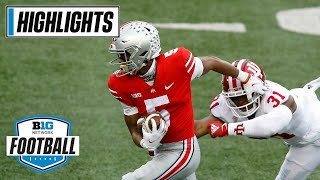 Indiana at Ohio State | Top Ten Battle Lives up to the Hype | Nov. 21, 2020 | Highlights