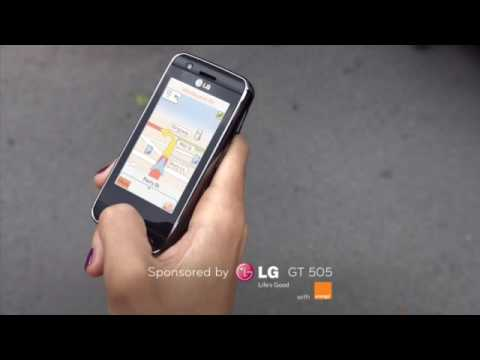 LG GT505 Pathfinder TV Spot