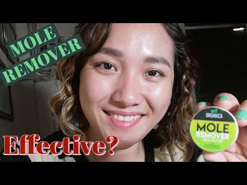 Organica Mole Remover - How to Remove A Mole Within One Week