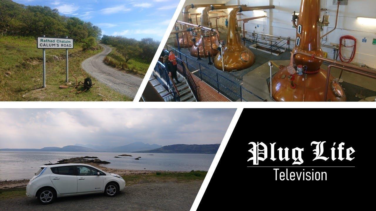 Skye Road Trip in a short-range EV PART 2 | Plug Life Television Episode 13