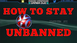 [PS3/CFW] How To Stay Unbanned On PSN! Modding Tutorials Episode 1
