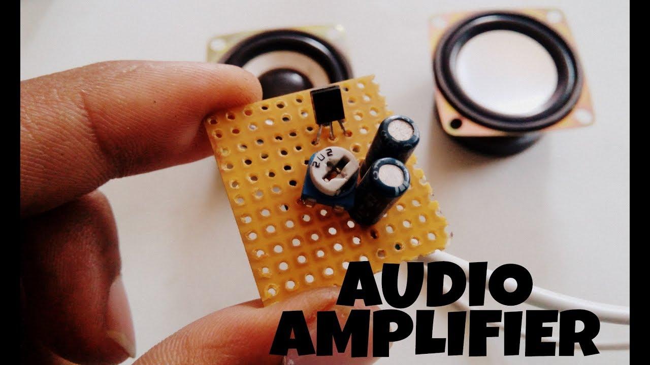Current Amplifier Using Transistors