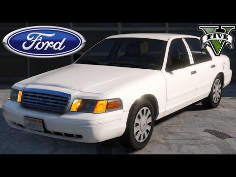 GTA V Mods -  Ford Crown Victoria