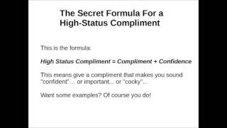 "Things to Text a Girl to Make Her Smile  - The Secret to Sending ""High Status"" Compliments!"