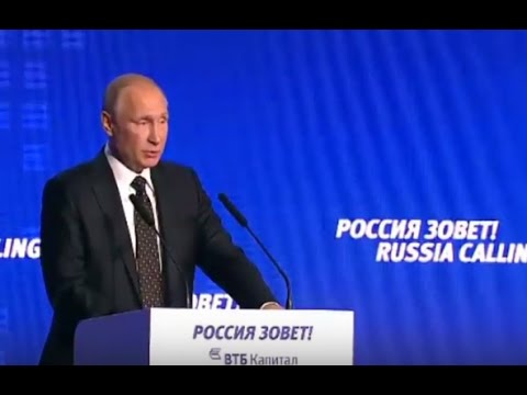 Putin Talks to Investors: Now is the Right Time to Invest in Russia