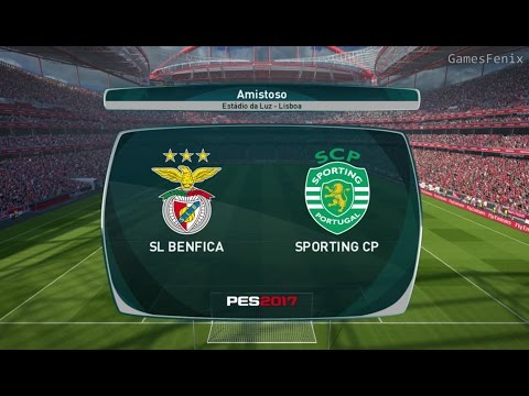 Benfica vs Sporting Lisboa / Gameplay / PES 2017