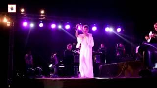 سعاد ماسي تشعل حفل بيراميد هيلز بالقاهرة وسط عدد ضخم من معجبيها