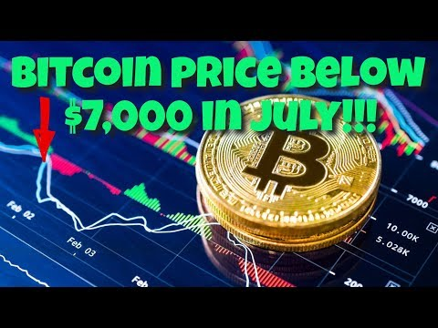 Analysts, BTC Price To Drop Below $7,000 in July! - Crypto Update 07.01.19