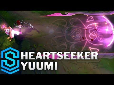 Heartseeker Yuumi Skin Spotlight - League of Legends