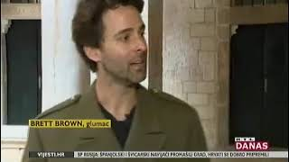 Brett Brown interviewed about his performance as Shakespeare's Henry V in Dubrovnik Croatia.