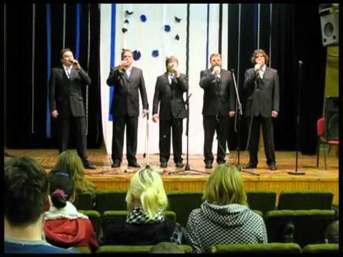 Vigala Meeskvintett - Puhu tuul ja tõuka paati (Liivi rahvalaul)