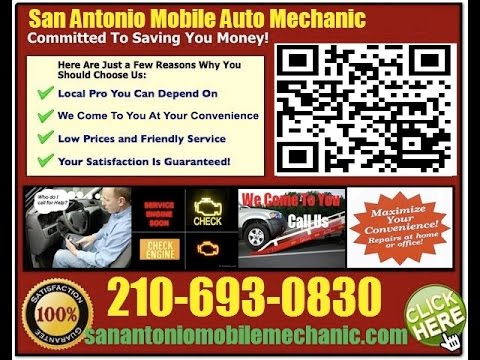 Mobile Mechanic San Antonio TX 210-693-0830 Auto Car Repair Service