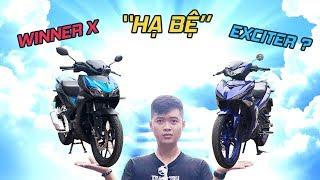 """So sánh Winner X và Exciter: Winner """"HẠ BỆ"""" Exciter?"""