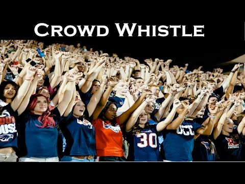 Crowd Whistle Sound Effect | High Quality Audio