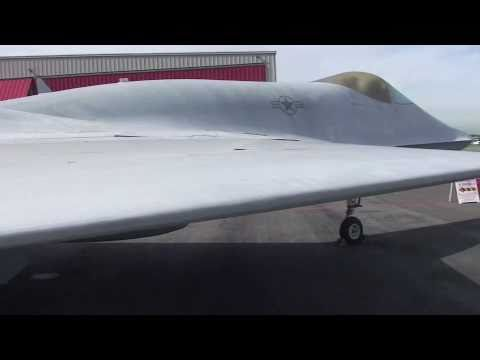 YF-23 Northrop Grey Ghost