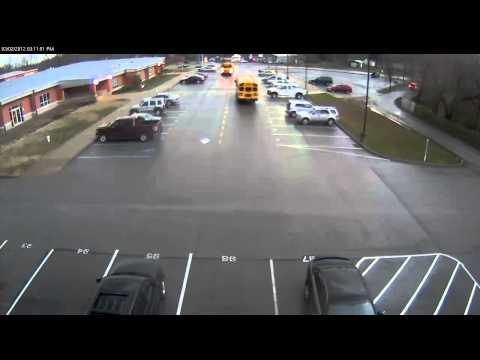 Elementary School_ Henryville Elementary School During Tornado