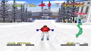 Big Mountain 2000 (Nintendo 64 Gameplay)