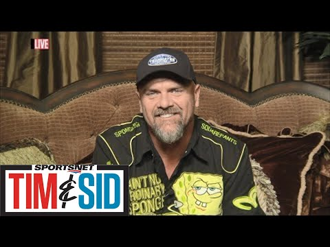 Larry Walker Reacts To Being Elected Into The Baseball Hall Of Fame | Tim And Sid