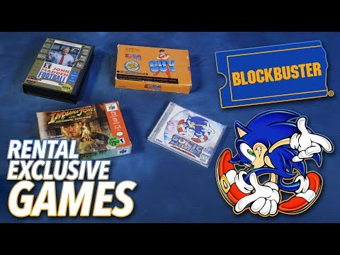 When Blockbuster Had Exclusive Video Games - Complete In Box