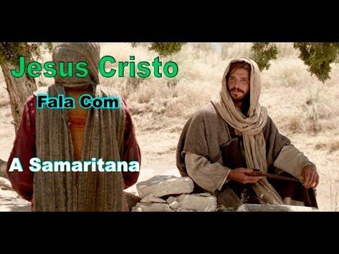A Mulher Samaritana Encontra Jesus No Poço