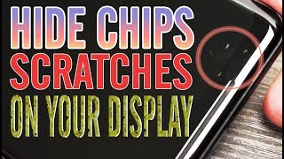 Scratches or Chips on your display? InvisShield True Fit Tempered Glass can cover it up
